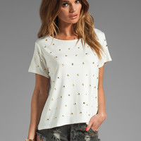 Lovers + Friends Kiss Me Studded Top in White from REVOLVEclothing.com