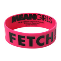 Mean Girls That Is So Fetch Rubber Bracelet
