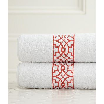 Ming Embroidered Bath Towels by Legacy Home