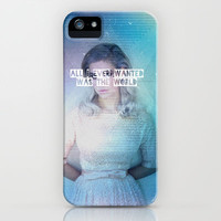 Give Me The World. iPhone Case by Samantha DeWinter | Society6