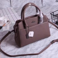 COACH WOMEN'S NEW STYLE LEATHER HANDBAG SHOULDER BAG