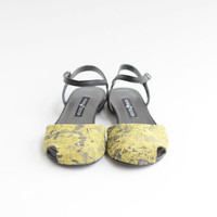 Alice - Yellow - FREE SHIPPING Handmade Leather Shoes 2016 Summer Collection