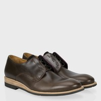 Paul Smith Men's Shoes   Brown Leather Law Shoes