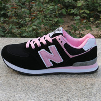Women Men Casual Running NEW BALANCE Sport Shoes Sneakers Black