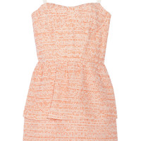 Alice + Olivia Shellyanne tweed dress – 50% at THE OUTNET.COM