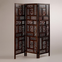 Carved Rena Screen - World Market