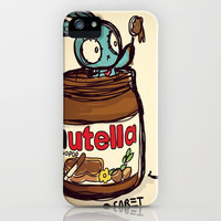 nutella love iPhone Case by Pixopop by Sabet | Society6