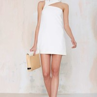 Helter Skelter Asymmetrical Cutout Dress