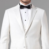ESSENTIAL WHITE THREE-PIECE SUIT