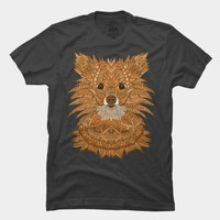 Golden Pomeranian T Shirt By Myartlovepassion Design By Humans