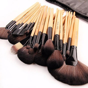 32Pcs Soft Makeup Brushes Professional Cosmetic Make Up Brush Tool Kit Set With Bag High Quality Christmas Gift