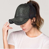 All Things that Glitter Pony Tail Baseball Caps