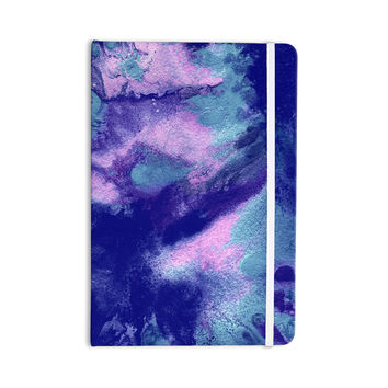 """Ashley Rice """"AC4"""" Abstract Blue Everything Notebook"""