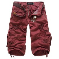 Casual Pants Summer Hot Sale Training With Pocket Plus Size Beach Shorts [10241476547]
