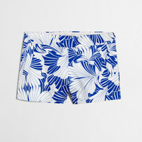 "Factory 4"" printed stretch chino short : 4"" 