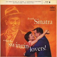 Frank Sinatra  -  Songs For Swingin' Lovers (Part 1) - Capitol Records - EAP1-653 - 1954