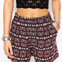 New Look Printed Soft Short