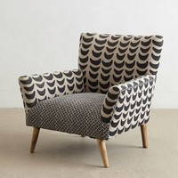 Bangala Armchair by Anthropologie in Neutral Motif Size: One Size Furniture