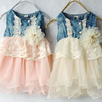 Kids Girls Baby Dress  Products For Children = 4445317380
