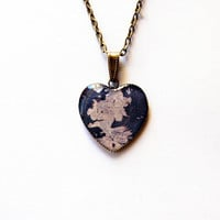Westeros Map - Game of Thrones Map - Game of Thrones Jewelry - A Song of Ice and Fire - Handmade Vintage Cameo Pendant Necklace