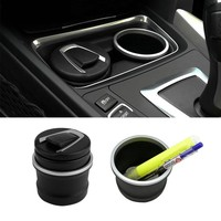 2016 New car Ash Tray Ashtray Storage Cup With LED for BMW 1 3 4 5 7 Series X1 X3 X5 X6 New Dropping Shipping