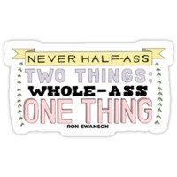 Ron Swanson Parks and Recreation Quote by rennyjogers