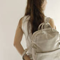 Leather Backpack /Sand leather Backpack/ Messenger Bag / Mac Padded Bag / Student Bag / Office Bag / Unisex Handbag / Puese - Kipi