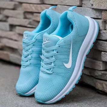 """""""NIKE"""" Fashion Casual Breathable Women Sneakers Running Shoes"""