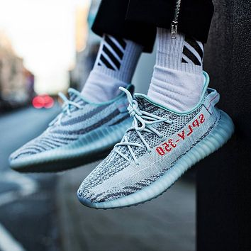 Adidas Yeezy Boost 350 V2 Blue Tint Sneakers Shoes