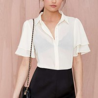 Sweet Jane Sheer Blouse