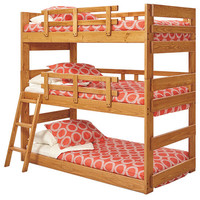 Dryden Twin Size Triple Bunk Bed