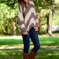 Hold Me Close Sweater, Taupe