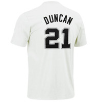 San Antonio Spurs NBA Player T-Shirt - Tim Duncan