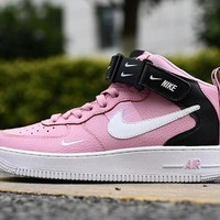 Air Force 1 07 LV8 Utility Pink Black White High - Best Deal Online