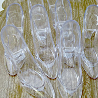 Set of 8 - Cinderella's Glass Slipper (Large) - The Ultimate Princess Party Pack
