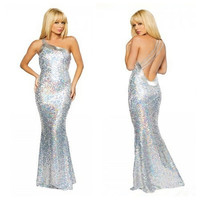 New Sexy Women Long Sleeve Cocktail Party Dress Formal Evening for cosplay Halloween = 1956799876