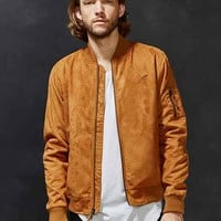 Publish Theodore Faux-Suede Bomber Jacket