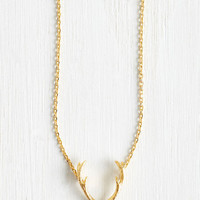 Rustic Back on Rack Necklace by ModCloth
