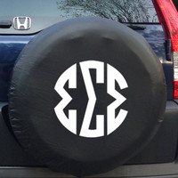 Greek Tire Cover