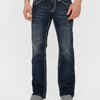 Rock Revival Selvin Slim Boot Jean