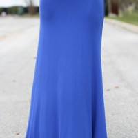 Feel Good Maxi Skirt – Royal Blue