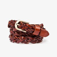 Braided Leather Belt | FOREVER 21 - 2037740071