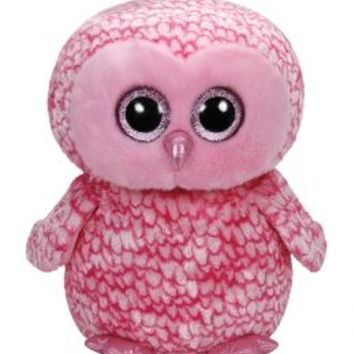Pinky Owl 16 Inch Beanie Boo | Girls Large Plush Stuffed Animals | Shop Justice