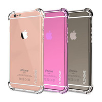 CRYSTAL CLEAR SERIES Soft TPU Case for iPhone 7 7 Plus 6 6S Plus Protective Back Cover