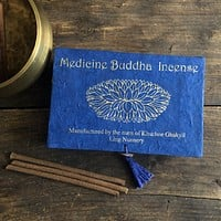 Medicine Buddha Incense- Handcrafted by Tibetan Nuns