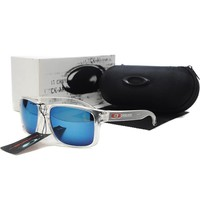 READY STOCK Oakley Original Unisex Sunglasses Frogskins Gray Blue oak
