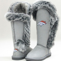 "Denver Broncos Women's Cuce Official NFL ""Winner"" Boots"