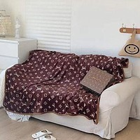 Louis Vuitton LV Conditioning Throw Blanket Quilt For Bedroom Living Rooms Sofa 2