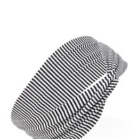 Striped Knotted Headwrap