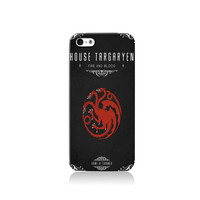Game of Thrones House Targaryen iPhone case, iPhone 6 case, iPhone 4 case iPhone 4s case, iPhone 5 case 5s case and 5c case